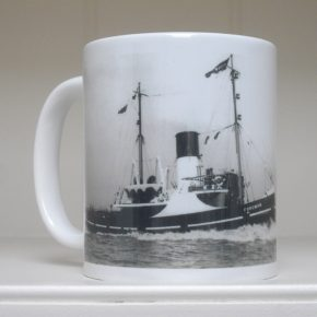 "Photo mug ""M.T. Foreman""."